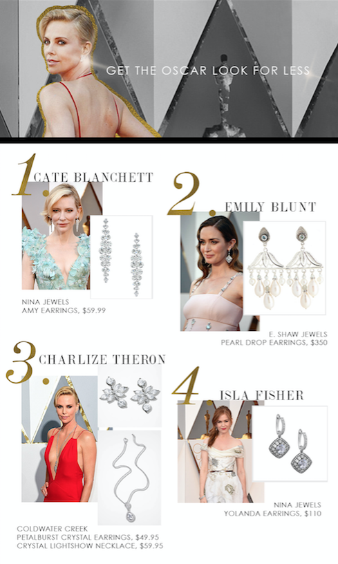 Academy Award Night Statement Jewelry