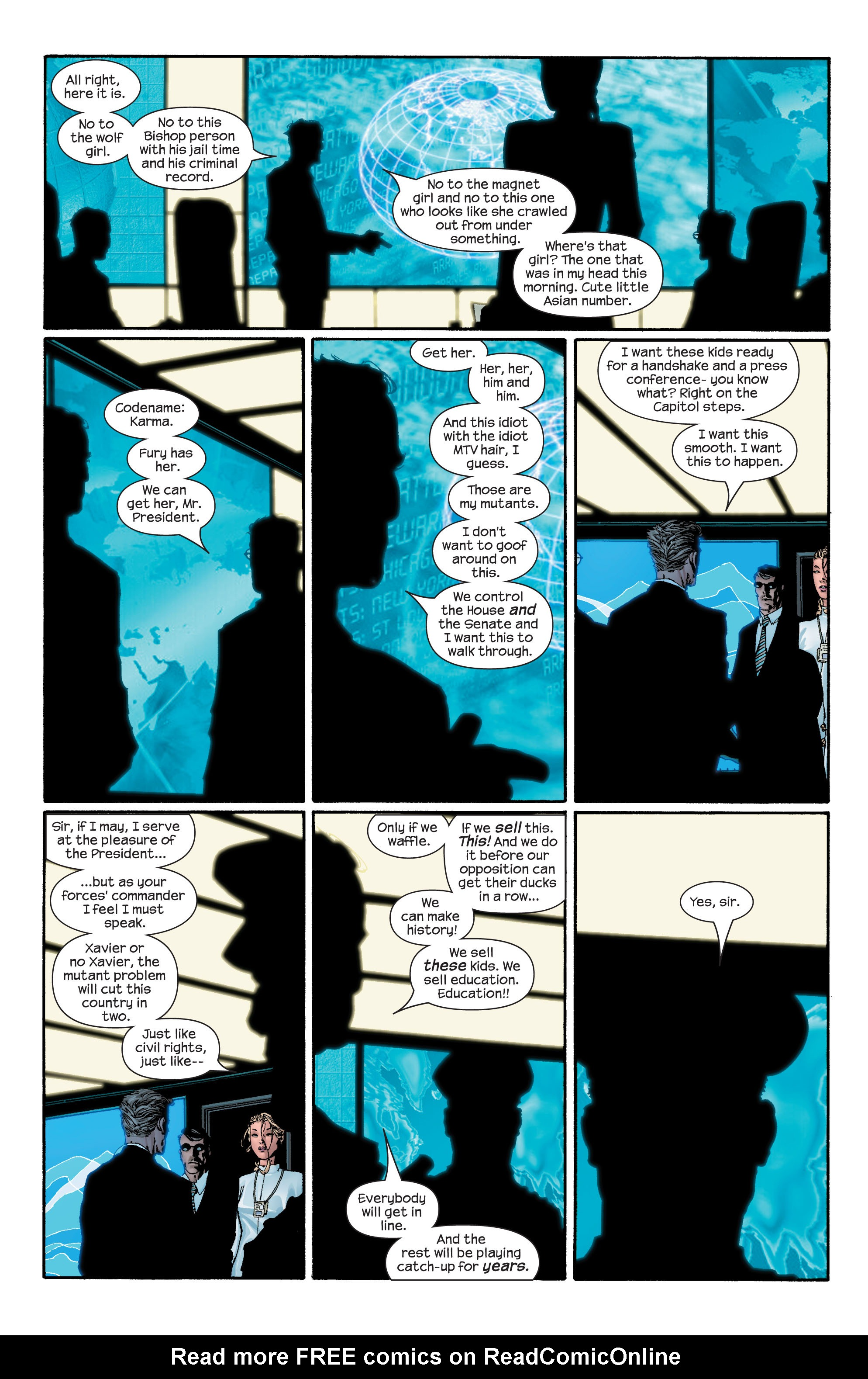 Read online Ultimate X-Men comic -  Issue #43 - 15
