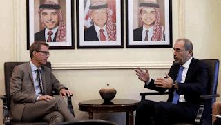 Yordania mengadakan pembicaraan dengan Rusia atas provinsi Daraa Suriah
