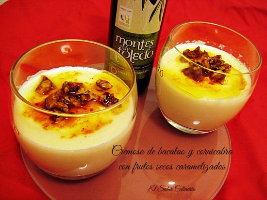 cremoso-bacalao-aceite-cornicabra-frutos-secos-caramelizados