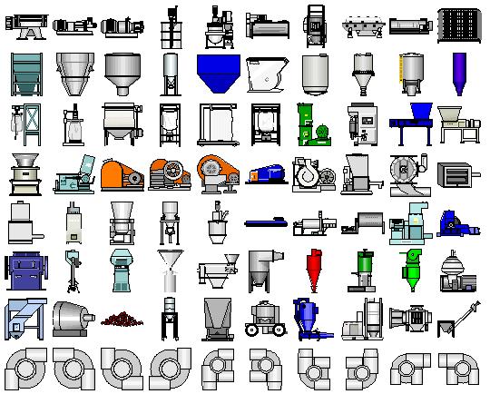 Thư viện icon biểu tượng thiết kế HMI SCADA - Symbol Factory 2.0 [Full Crack]