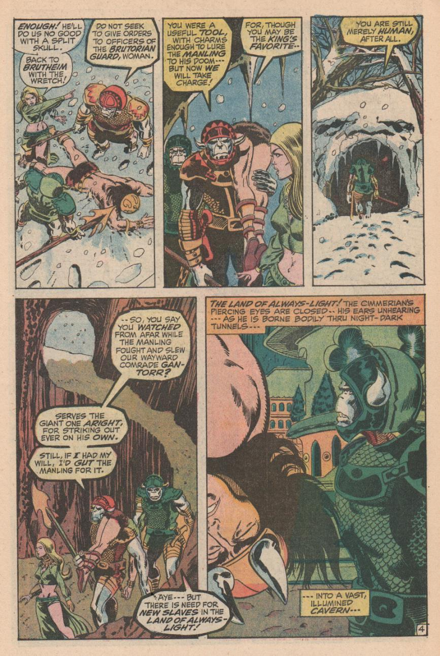 Conan the Barbarian (1970) Issue #2 #14 - English 5