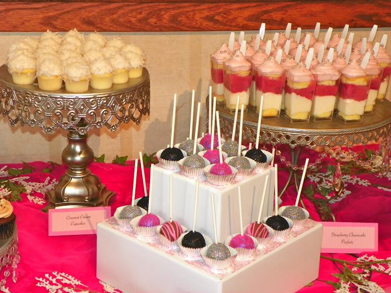 Plumeria Cake Studio Mini Dessert Buffet Featuring
