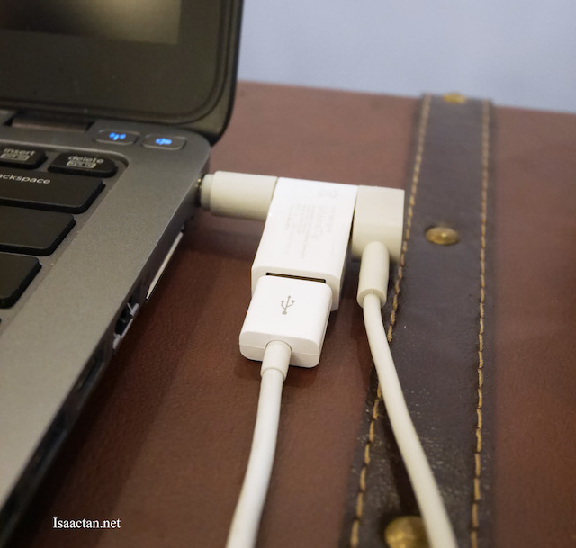WizardTip (attachable super-speed USB charging connector)