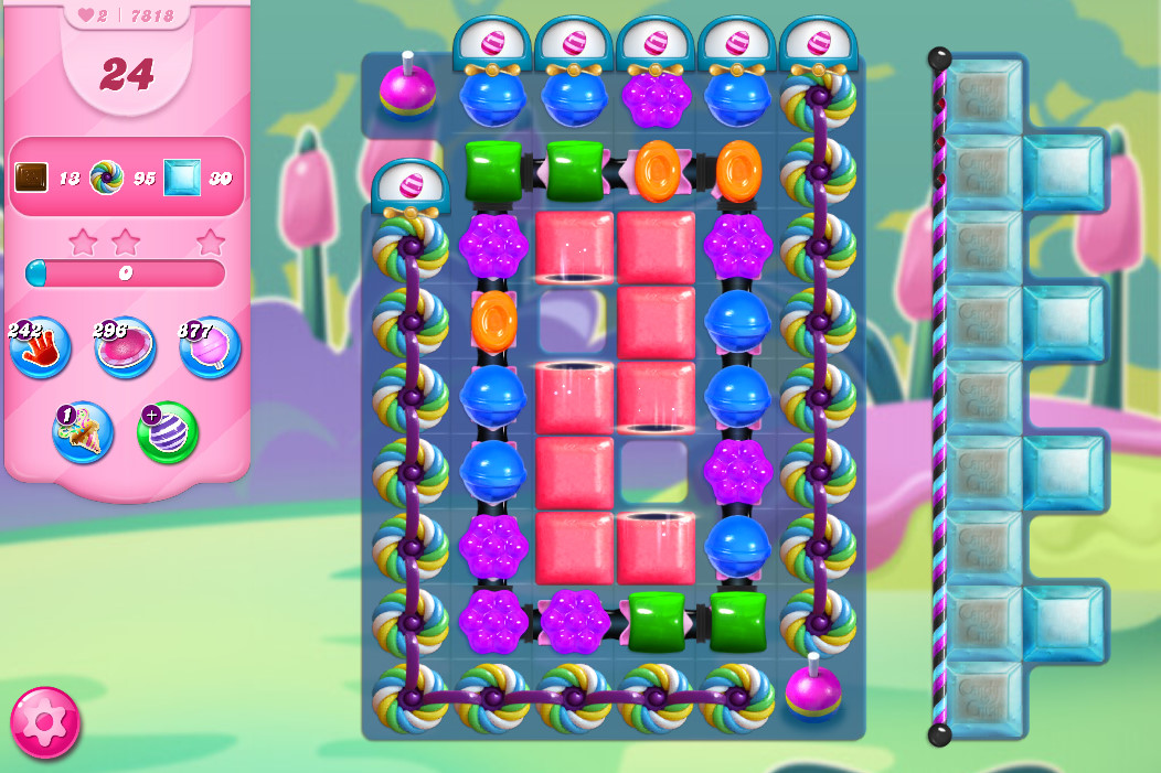 Candy Crush Saga level 7818