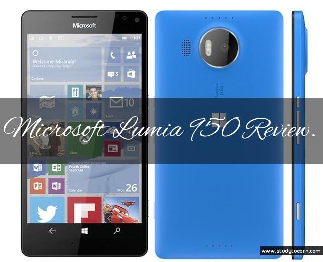 Microsoft Lumia 950 Review.
