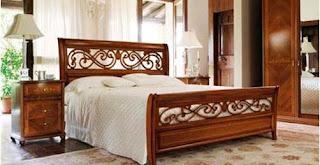 jual Set Tempat Tidur Antik