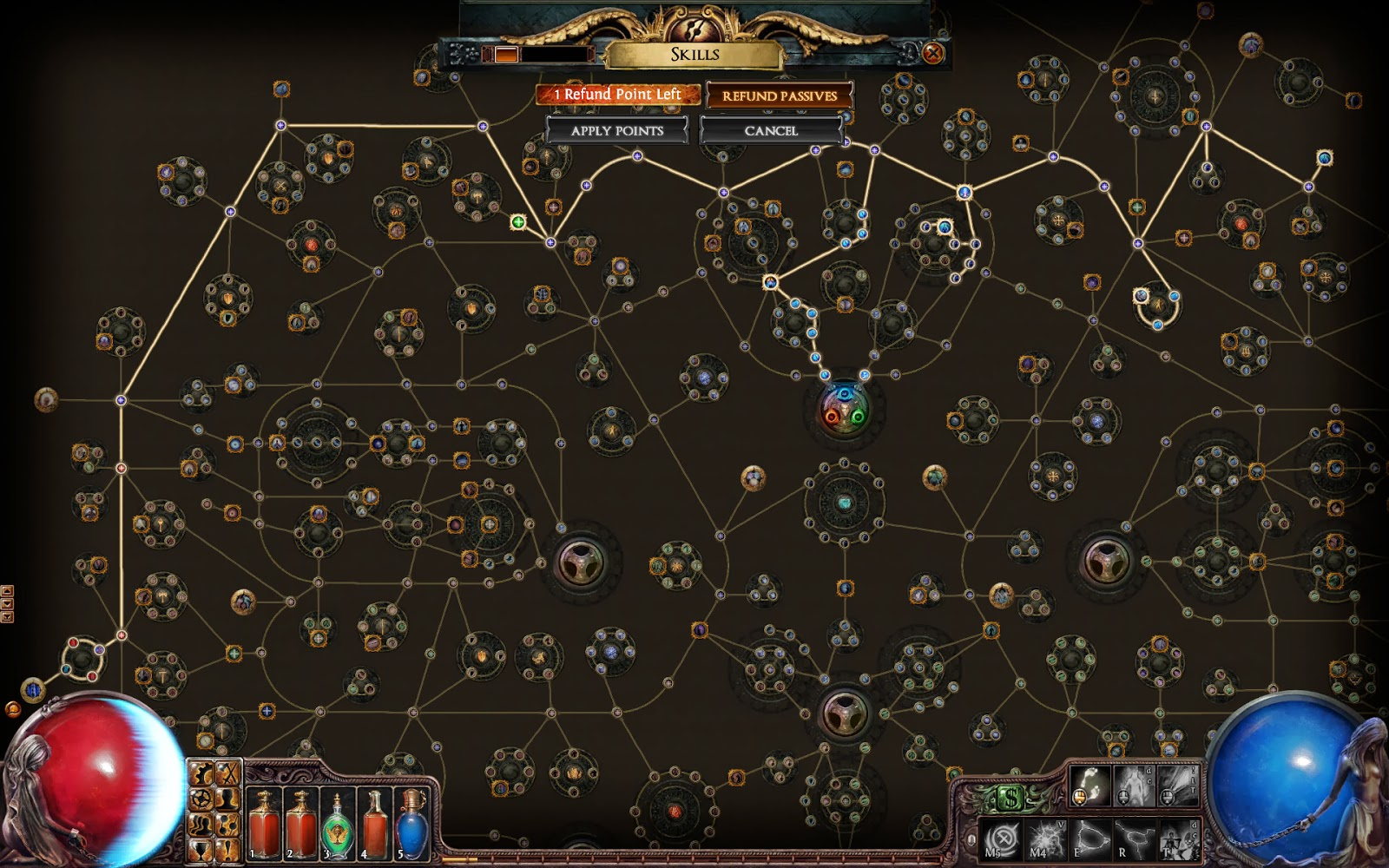 skill tree path of exile