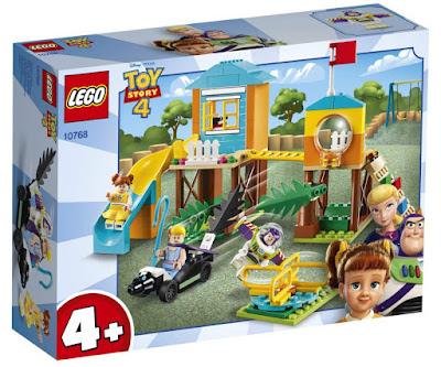 LEGO 4+ : Toy Story 4 10768  Aventura en el Parque de Juegos de Buzz y Bo Peep   Buzz & Bo Peep's Playground Adventure     Producto Oficial Película 2019 | Piezas: 139 | Edad: +4 años  COMPRAR ESTE JUGUETE