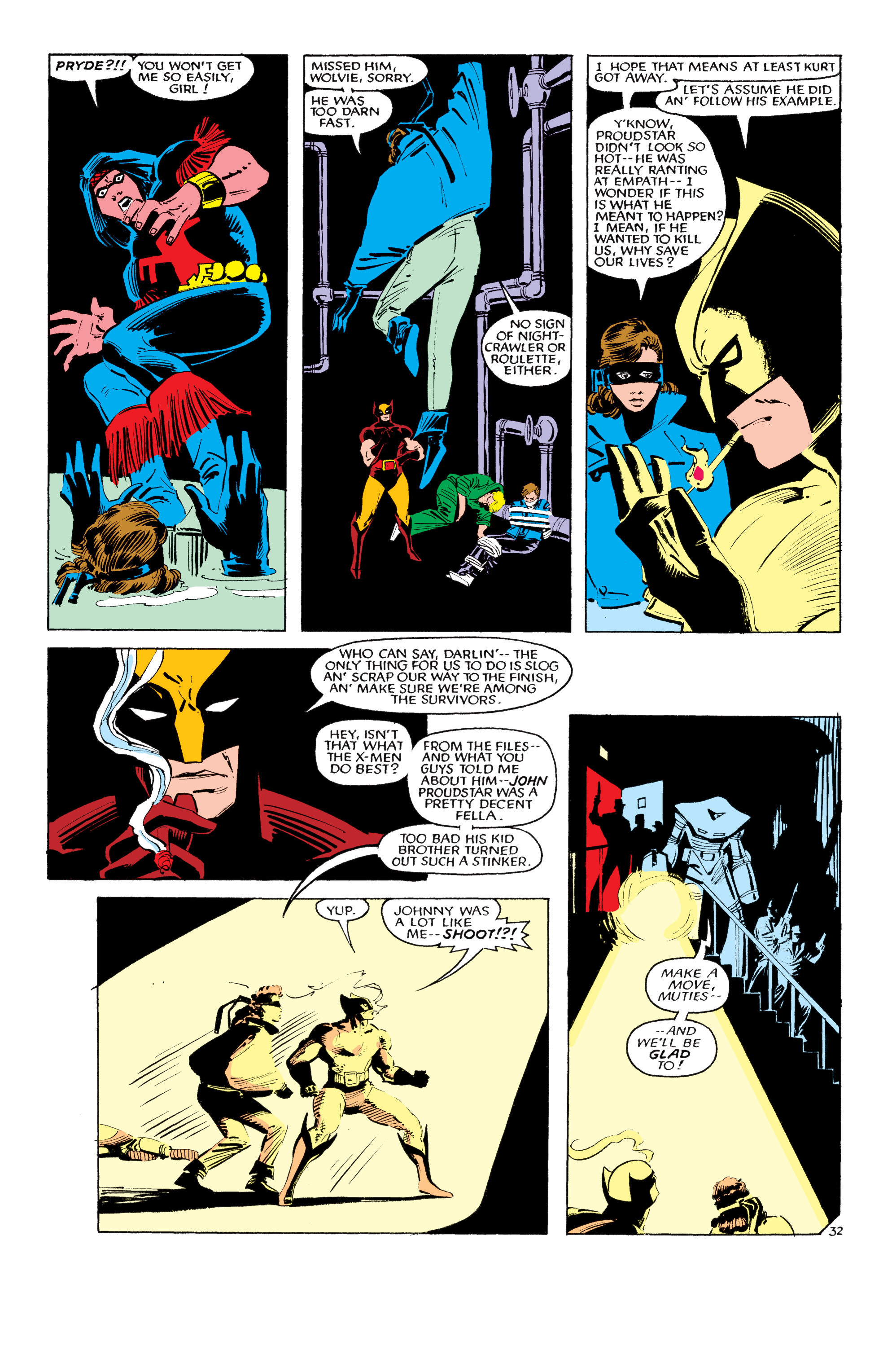 Read online Uncanny X-Men (1963) comic -  Issue #193 - 33
