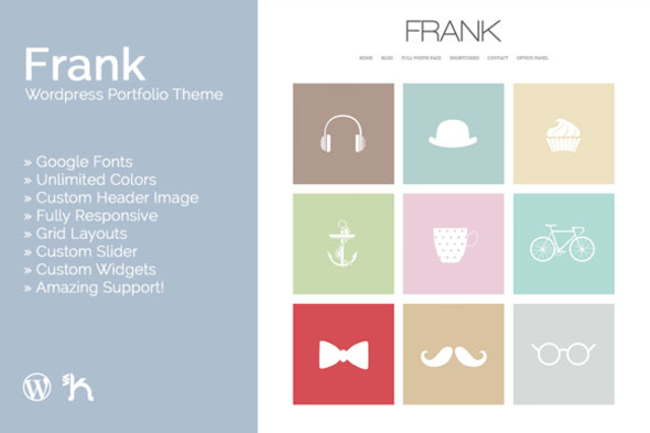 Download Frank V2.1 Wordpress Portfolio Theme