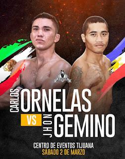Carlos Ornelas vs. Jhon Gemino