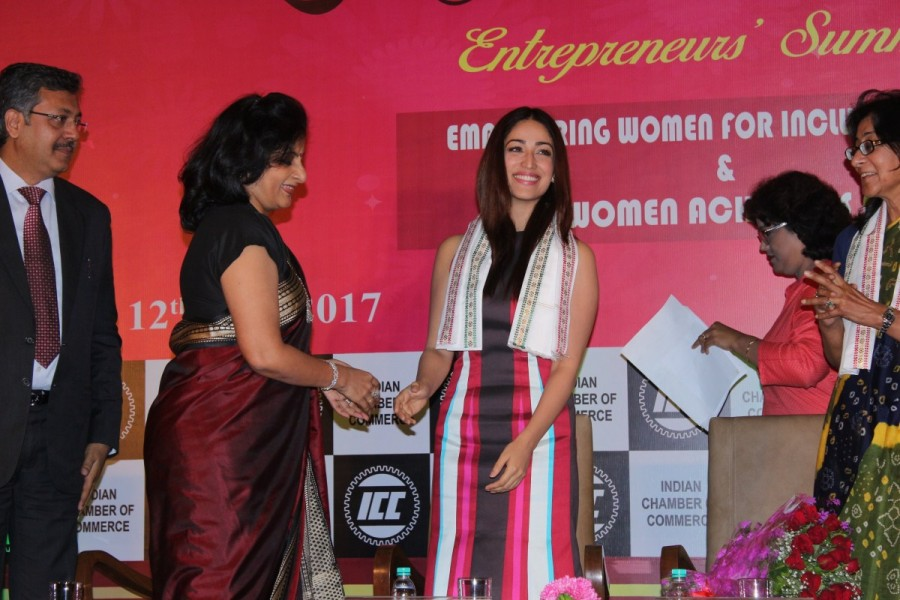 Yami Gautam attends ICC Women Achievers Award 2017 at Hotel Leela