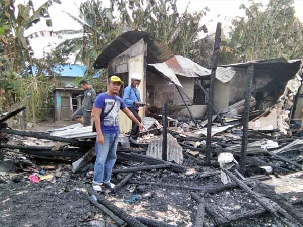Kebakaran Melanda 1 Unit Rumah Di Belitang