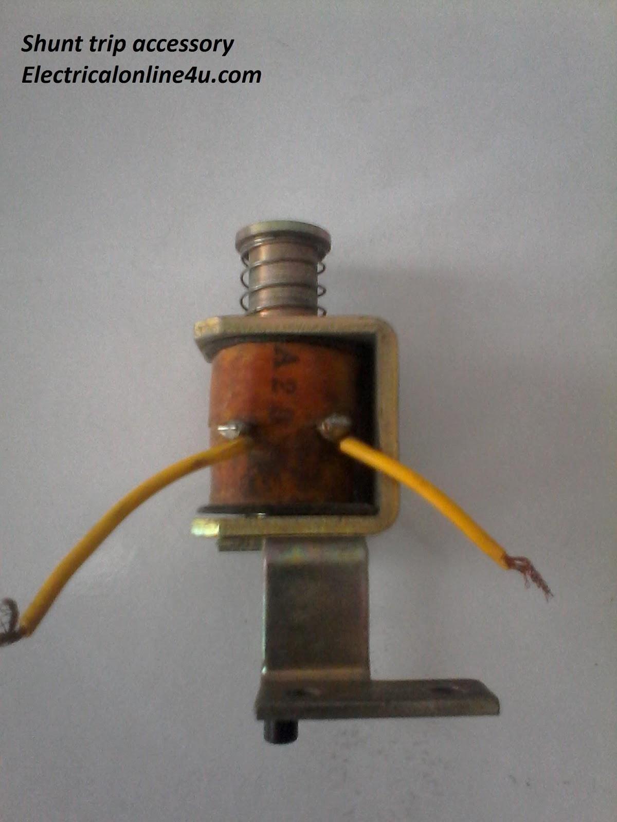 hight resolution of breaker shunt trip coil