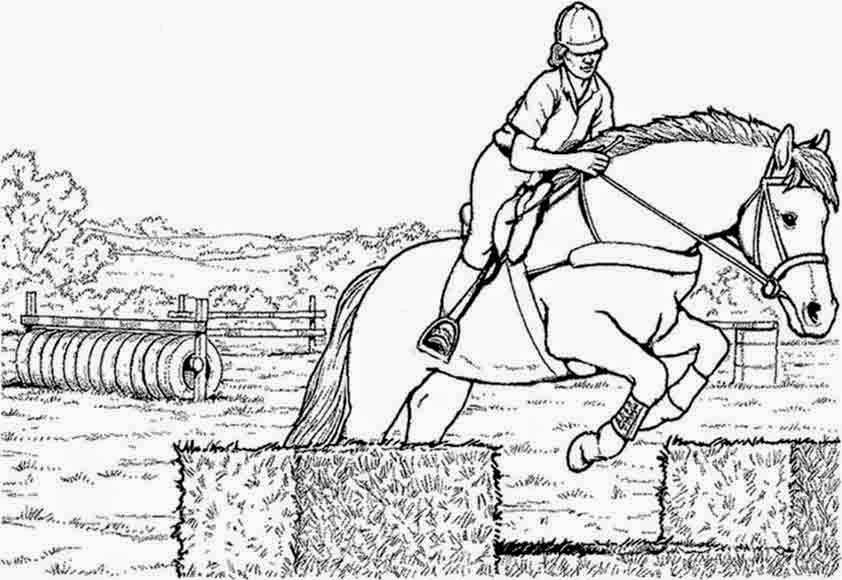 Malvorlage Springendes Pferd Malvorlagencr
