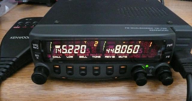 Kenwood TM-733 Mobile Radio