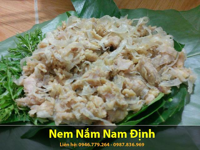 Địa chỉ bán nem nắm Nam Định ngon ở tại Hà Nội
