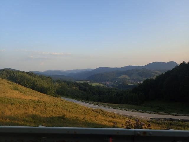 Gdzieś w środkowej Słowacji (jedna z bardziej widokowych dróg)