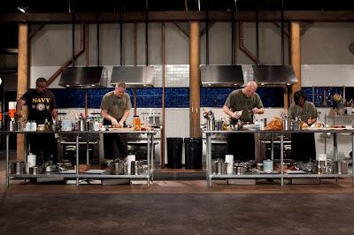 Caixa com ingredientes obrigatórios é entregue a quarteto de cozinheiros profissionais que disputa prémio de dez mil dólares - Divulgação