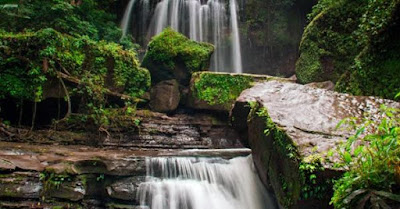 tempat wisata alam makasar Air Terjun Wae Sai yang lagi hits