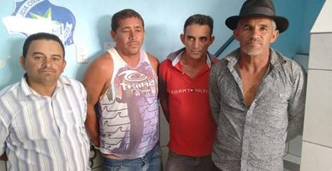 Operação integrada prende quatro pessoas em Canapi, Mata Grande e Inhapi