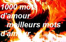 1000 mots d'amour - meilleurs mots d'amour