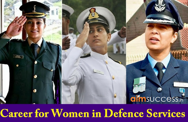 Career For Women In Defence Services