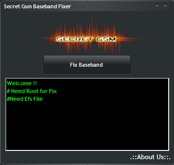 Samsung Baseband Fix Tool