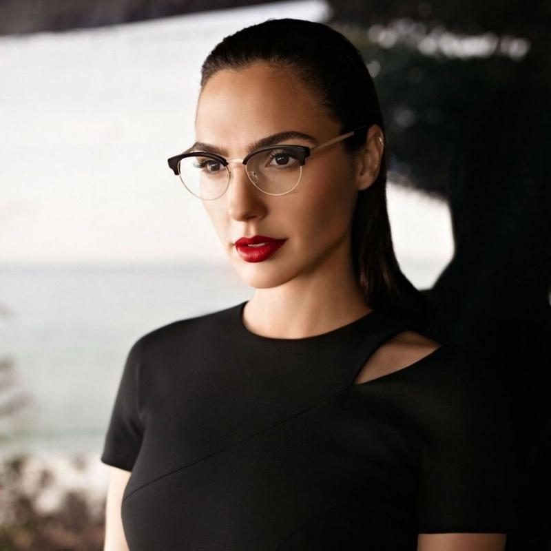 Gal Gadot Stuns in New Eyewear Campaign