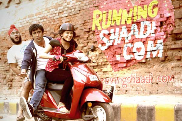 Complete cast and crew of Runningshaadi.com (2017) bollywood hindi movie wiki, poster, Trailer, music list -  Amit Sadh and Taapsee Pannu, Movie release date February 3, 2016