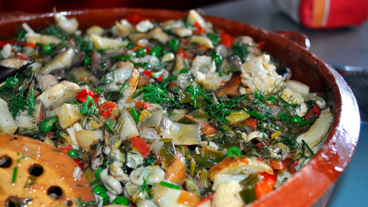 Frito de verduras
