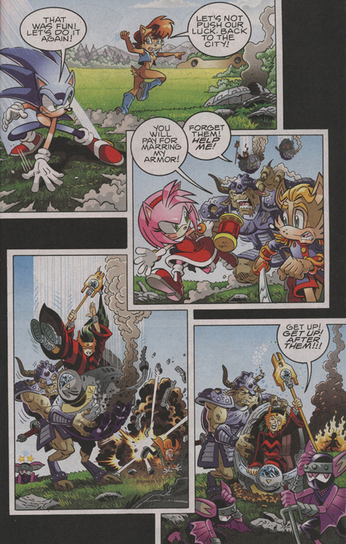 Read online Sonic The Hedgehog comic -  Issue #206 - 12