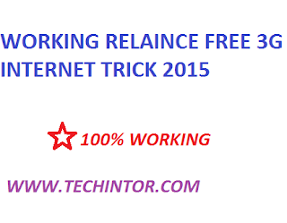 WORKING Reliance Free 3G Internet Using Proxy Trick – MAY 2015