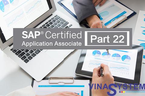 Bộ câu hỏi chứng chỉ SAP Business One (Phần 22)