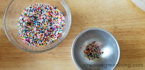 how to make bath bombs with sprinkles