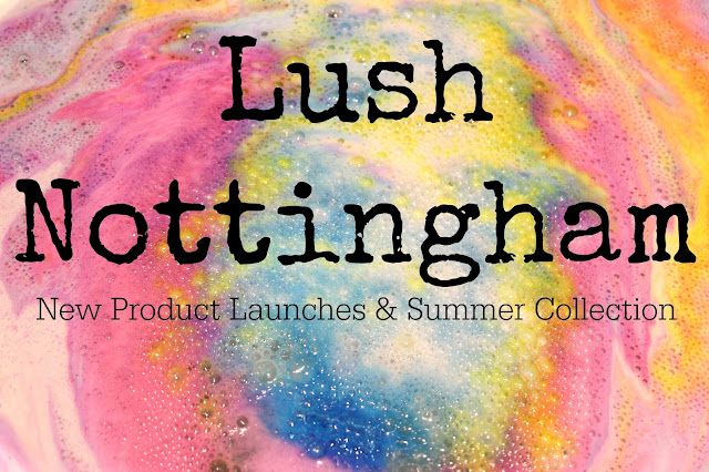 Testing out The Experimenter Bath Bomb, new to the Nottingham Lush store