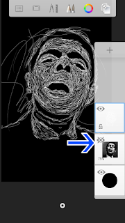 Tutorial Edit Foto Scribble Art Android