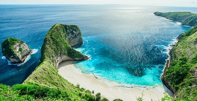 ini dia Keindahan Pantai Kelingking Nusa Penida