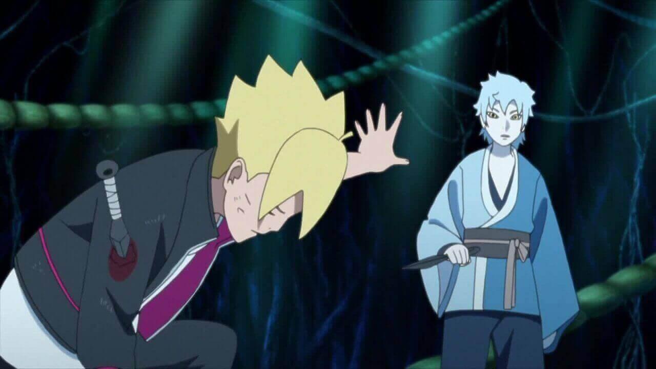 الحلقة الرابعة عشر 14 من أنمي بوروتو: ناروتو الجيل القادم Boruto: Naruto Next Generations مترجمة