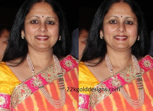 Jayasudha in Stylish Rani Haram