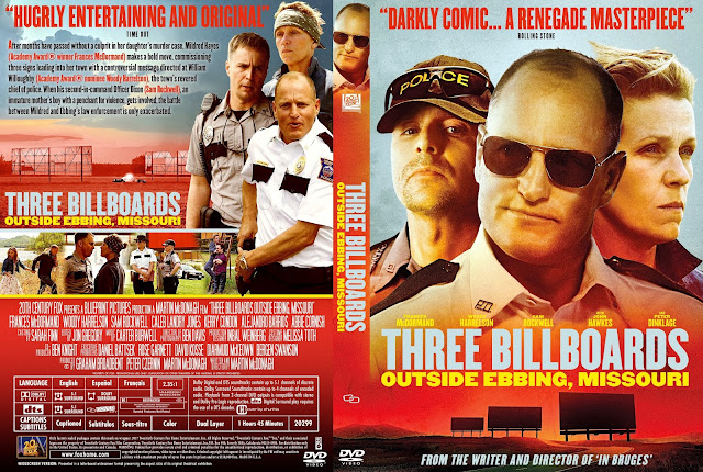 Three Billboards Outside Ebbing, Missouri DVD Cover
