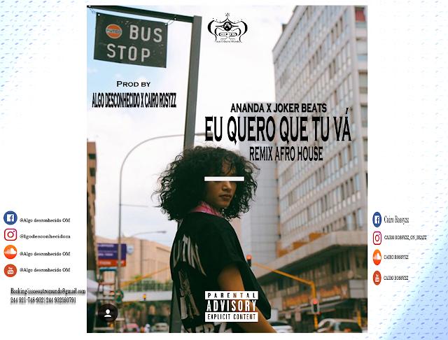 """Ananda lança o single """"Eu quero que vá"""" (Remix Afro House)"""