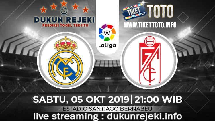 Prediksi Skor Pertandingan Real Madrid Vs Granada 5 Oktober 2019