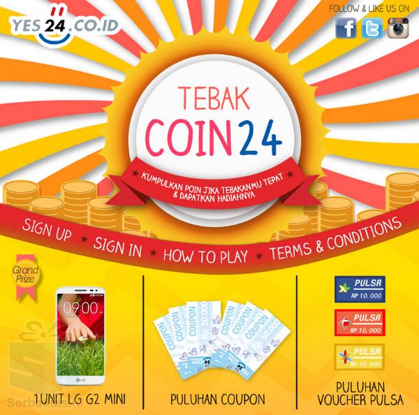 Kuis Tebak Coin 24 Berhadiah Smartphone LG G2 Mini
