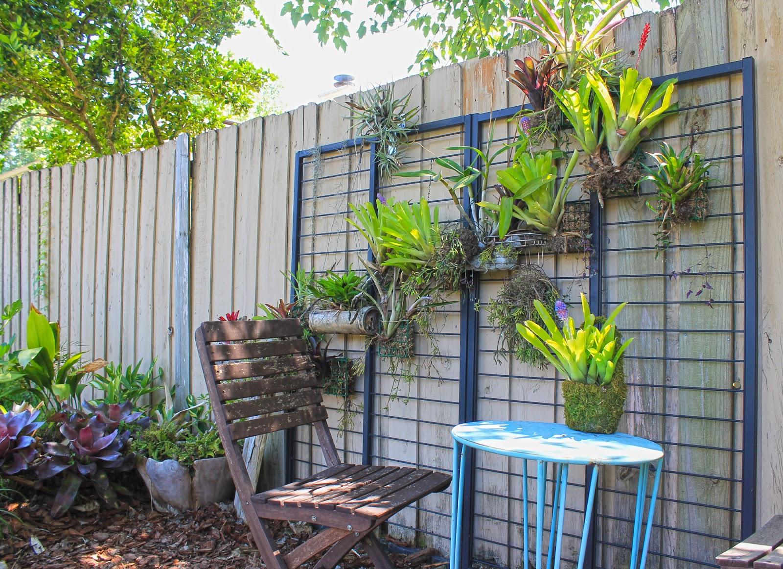The Rainforest Garden: Make A Vertical Garden From Cheap