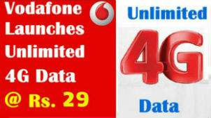 Vodafone has launched Super Night Data Plan get unlimited 4G / 3G data for 5 hours in Night