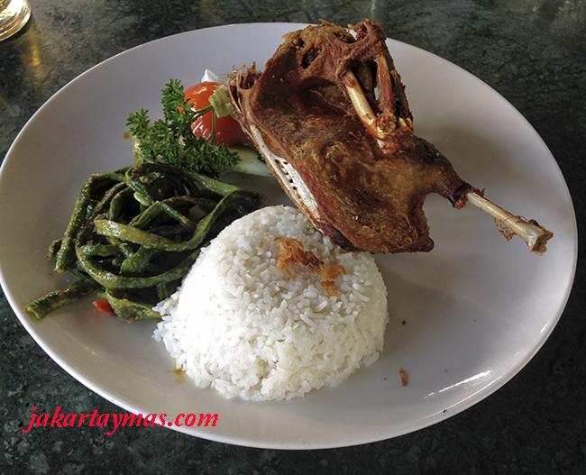 El pato en Bali