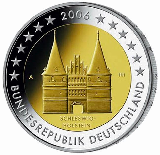 https://www.2eurocommemorativecoins.com/2014/03/2-euro-Germany-2006-Holstentor-Lubeck-Schleswig-Holstein.html