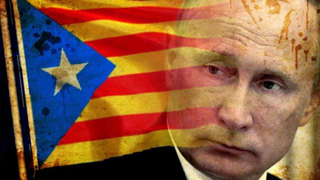 """A maquinaria de ingerências russas penetra a crise catalã"", diz ""El País"""